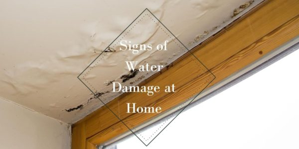 Signs of Water Damage at Home