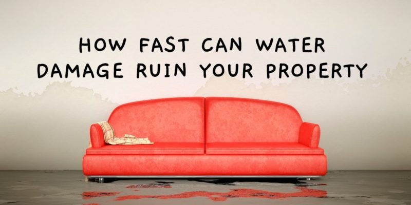 How Fast Can Water Damage Ruin Your Property