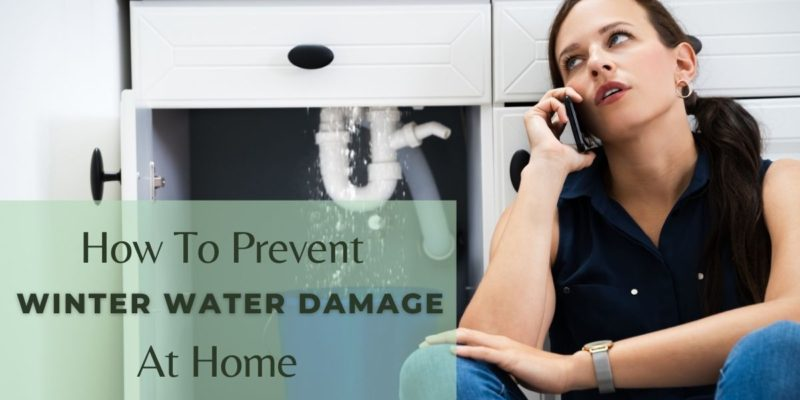 How To Prevent Winter Water Damage At Home